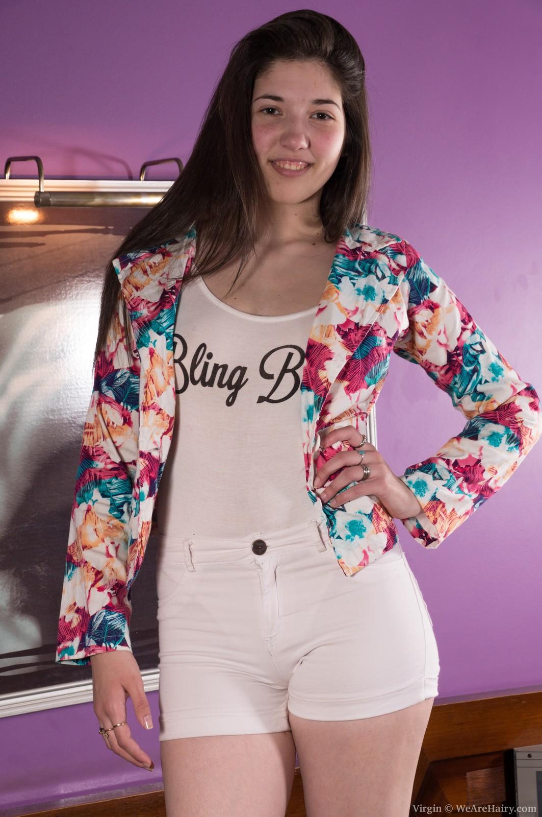 Puzzy girl virgin American teen